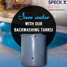 speck backwash pump